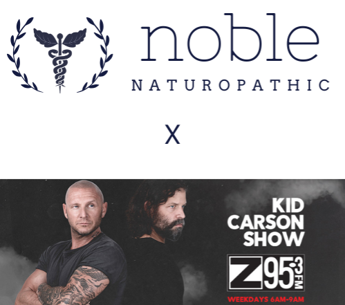 Dr. David Duizer of Noble on The Kid Carson Show
